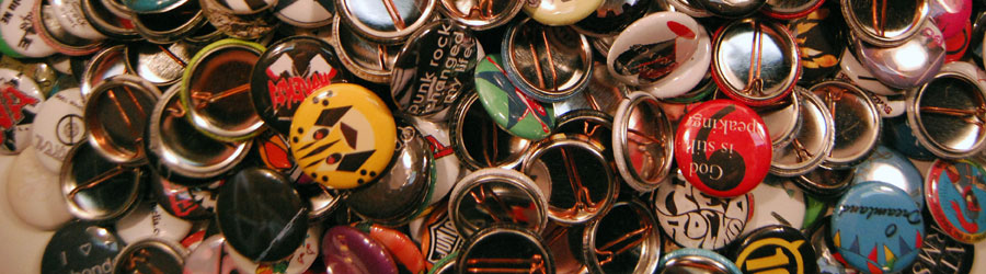 500 One Inch Buttons – $140