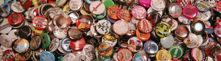 50 One Inch Buttons – $17